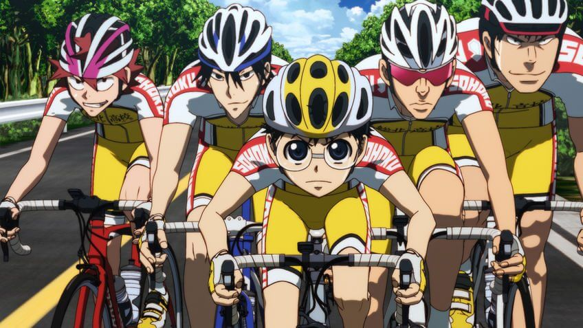 Pedal Yowamushi Netflix Temporada 2