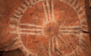Native american mandala and native american symbols