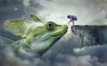 animal symbolism lizard dream meanings