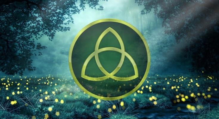 Celtic symbol for trinity