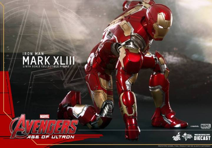 Iron Man Mark XLIII Hot Toys Avengers Age of Ultron (7)