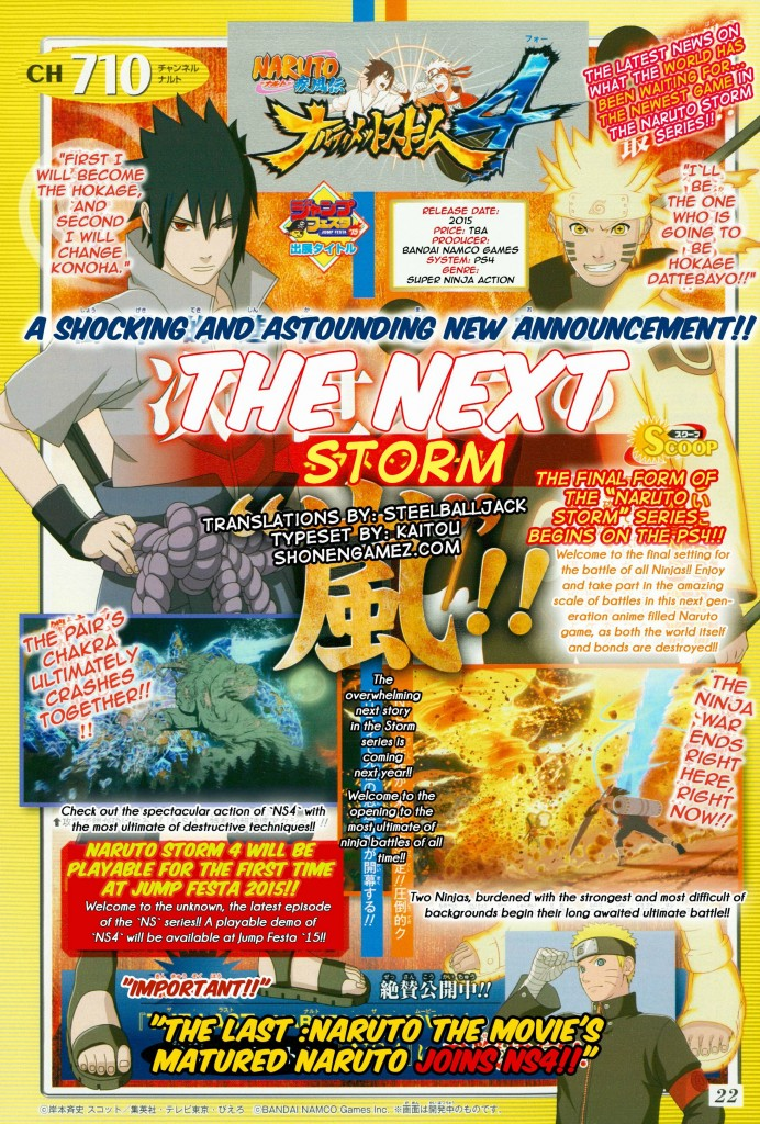 Naruto ultimate ninja storm 4 translated