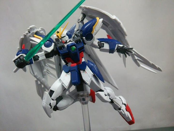 RG 1/144 Wing Gundam Zero Custom Endless Waltz Preview