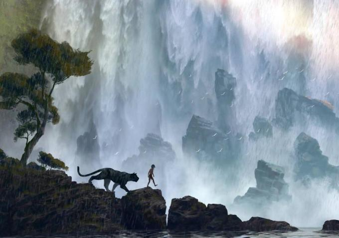 concept art disney the jungle book