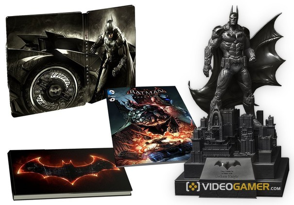 Batman-arkham-knight-amazon-set-statue-in-memory of gotham knight