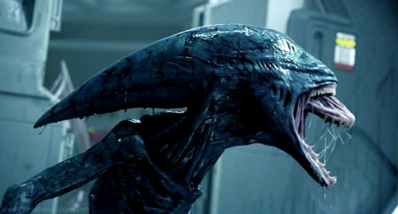 Deacon Xenomorph from Prometheus