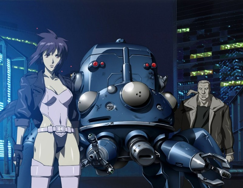 Ghost-in-the-shell-major-Motoko-batou-tachikoma