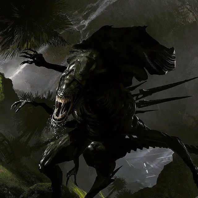 Neill Blomkamp Aliens concept art (2)