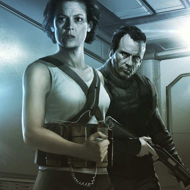 Neill Blomkamp Aliens concept art (5)