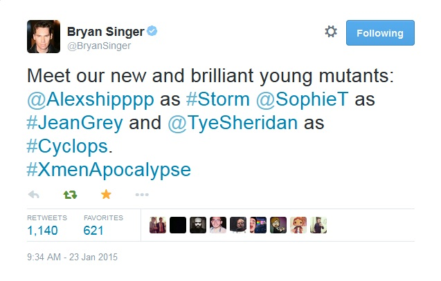 xmen apocalypse cast