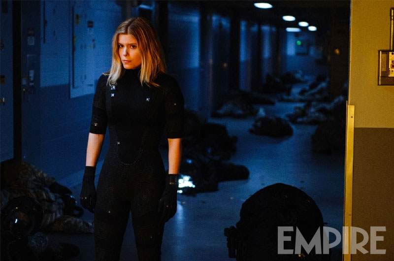 Kate Mara's Invisible Woman Costume for the Fantastic Four Reboot Film