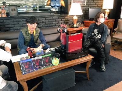 Hideo Kojima was not at the Presscon