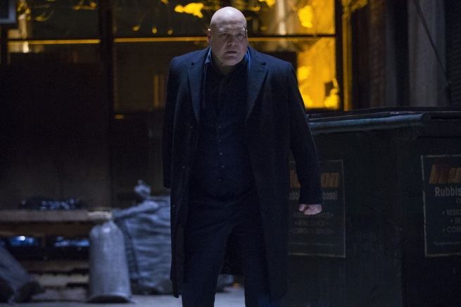 Vincent D'Onofrio as kingpin daredevil