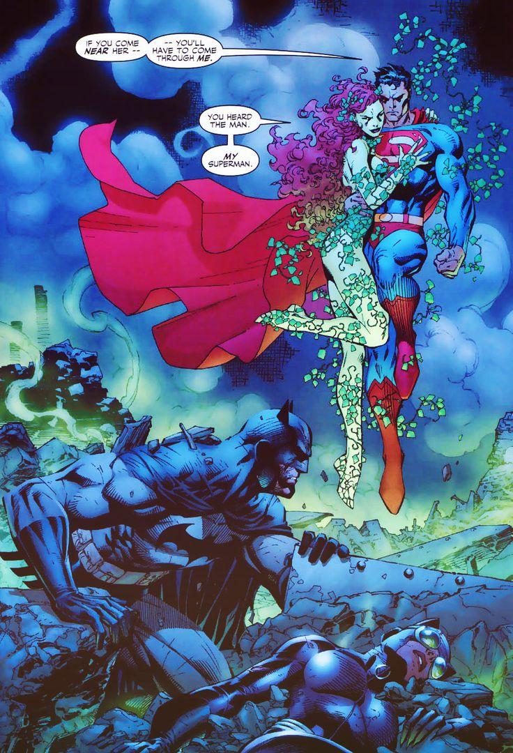 superman-poison-ivy-hush-jim-lee
