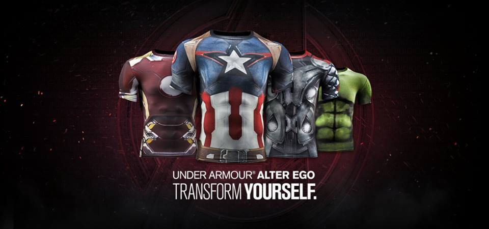More Under Armour Avengers: Age of Ultron Shirts Revealed!