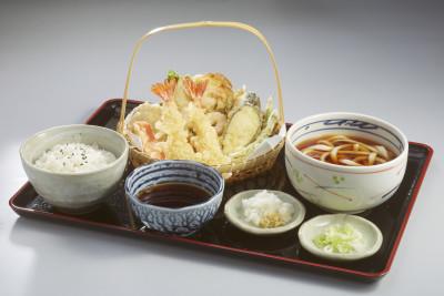 black tiger prawn, squid, kisu, small kakiage, green beans, sweet potato   Php. 385.00