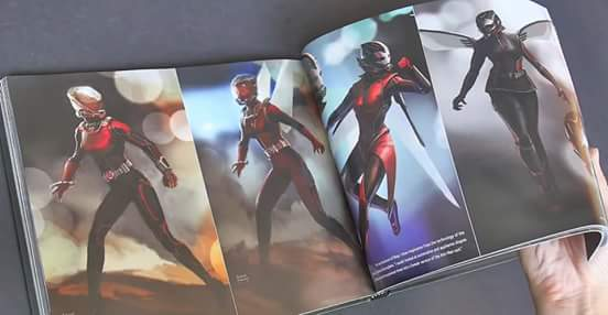 ant-man movie the wasp concept art
