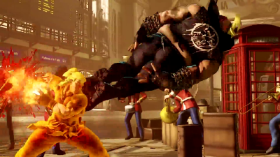 Not to mention, it gives Ken a shakunetsu hadoken of sorts, and it's hella sweet.