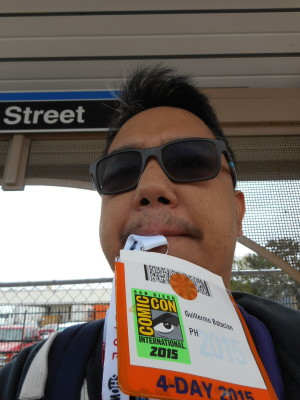 Never lose the Comic Con Badge. Even when the event is done. It's another way to possibly get in to the next Con.  (c) WAG