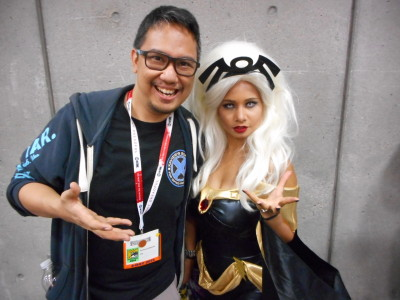 Photo with Storm. :) (c) WAG