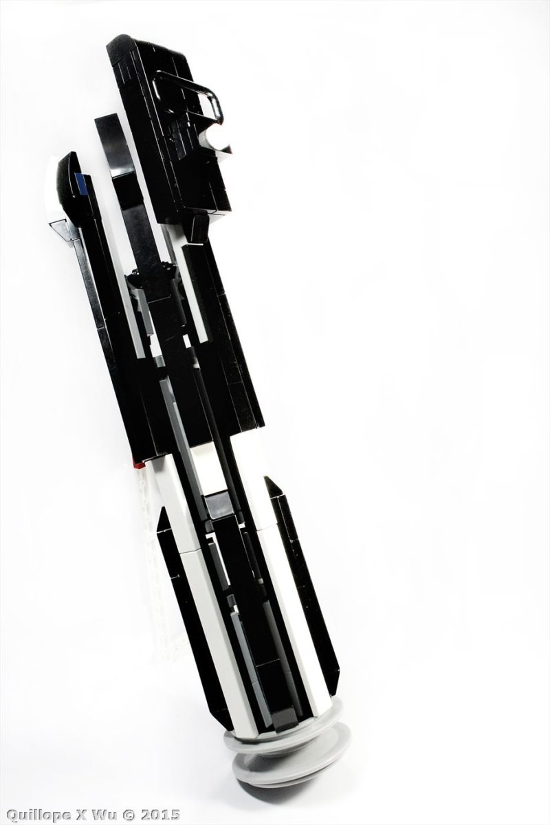 star wars LEGO custom darth vader light saber (9)