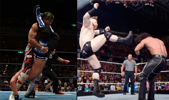 AJ Styles Sheamus Seth Rollins