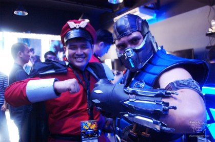 Jeriel Martinez as Bison and Carl Jimenez as Sub-Zero!