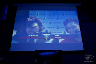 For these players, it was another day of competing at Street Fighter; for Bison in the commentary box, it was only a Sunday.