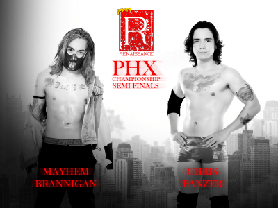 PWR PHX Champ Brannigan vs. Panzer