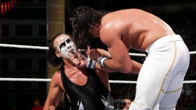 Sting vs Seth Rollins