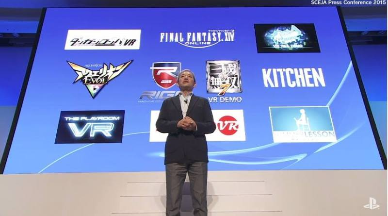 PlayStation VR Games shown during Sony's Pre-TGS Presscon