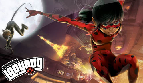 The Miraculous Ladybug, The Newest CGI Animated Heroine