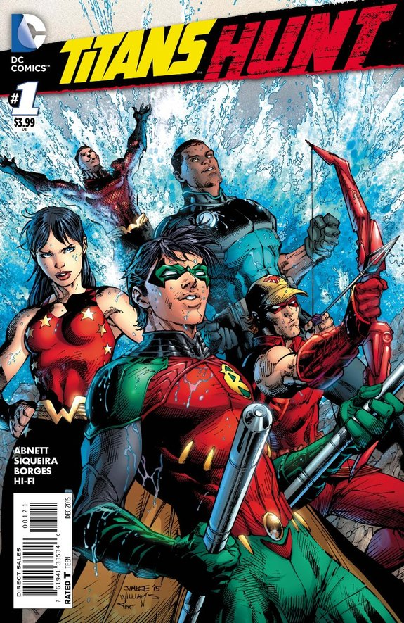 Titans Hunt Jim Lee cover