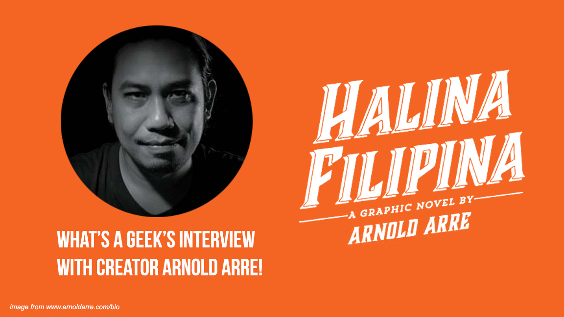 EXCLUSIVE: Arnold Arre talks about his new graphic novel 'Halina Filipina,' a possible film for 'Mythology Class,' and developing as an artist