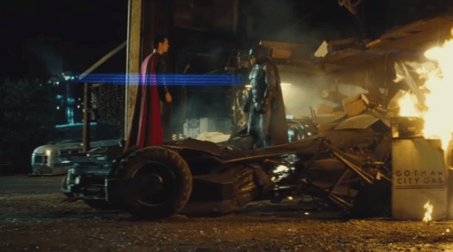 Batman v Superman new footage from Conan