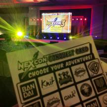 NexCon's Conquest Card: Fun way to get to know the booths!