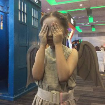 Cutest Weeping Angel I have ever seen