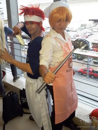 Soma (fb.com/Yuzuru.Desu) and his raibaru :P