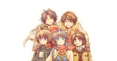 Suikoden protagonists c/o pixiv user きりかる