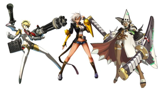 My cast of FG mains/waifus.