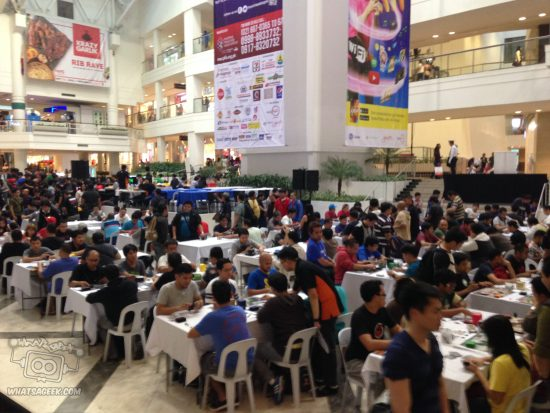 The largest Modern Tournament attendance in the Philippines.