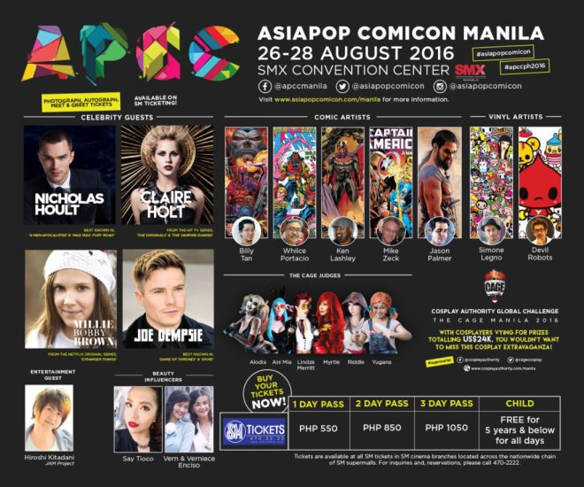 Catch these guests and more at APCC 2016 Manila!