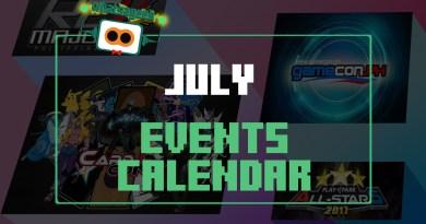 July Events Calendar