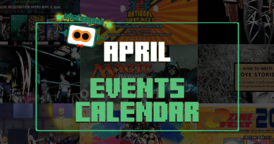 April 2018 Events and Happenings Calendar