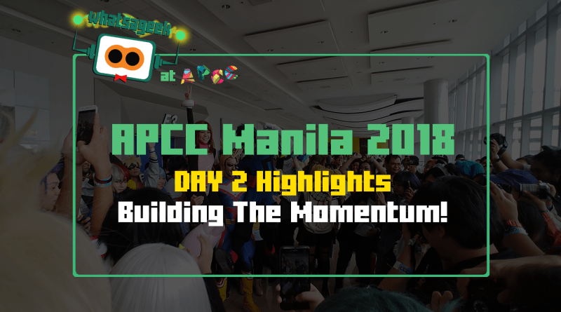 WAG APCC Manila 2018 - 01 - Day 2 Highlights