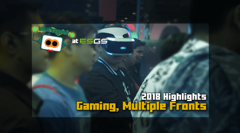 ESGS 2018 Games Feature