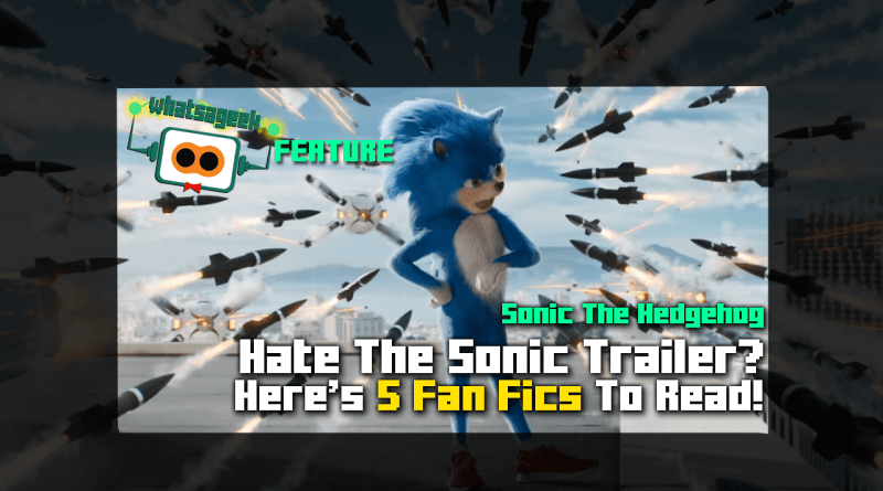 Sonic 2019 Trailer