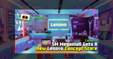 Lenovo SM Megamall Concept Store
