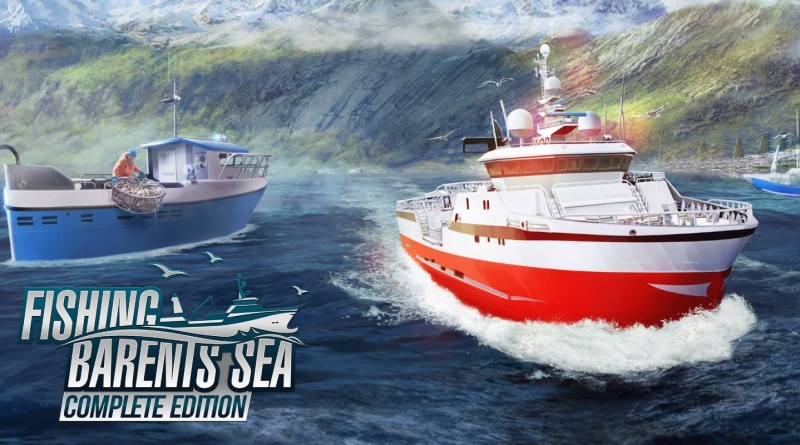 Go Fish on your Nintendo Switch with Fishing: Barents Sea