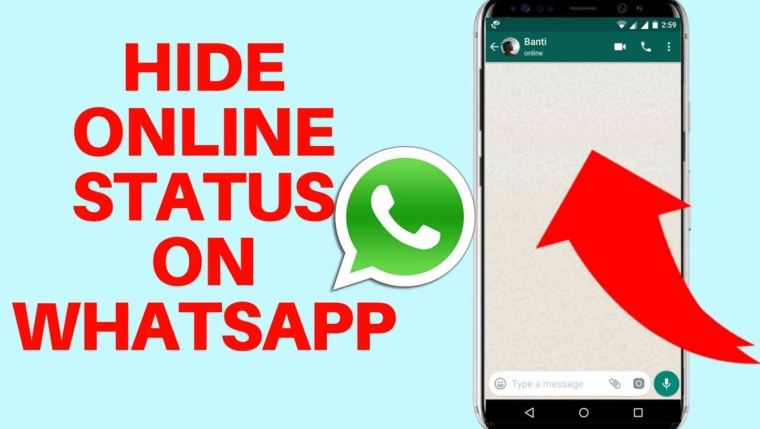 How to hide online status on WhatsAp
